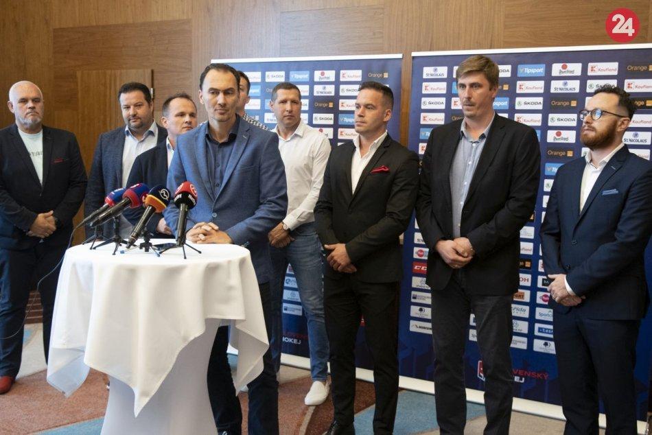 Prvá liga sa zmenila na Slovenskú hokejovú ligu