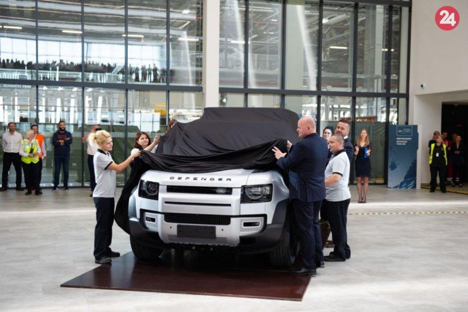 Nový Land Rover Defender