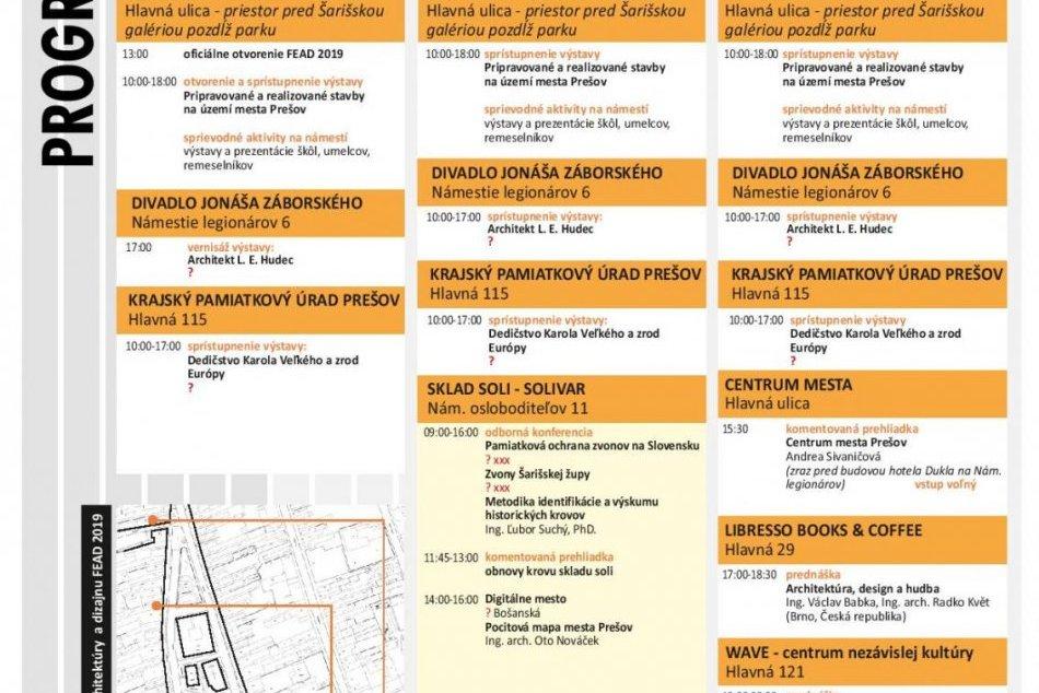 FEAD v Prešove bude aj tento rok: Program podujatia je už známy