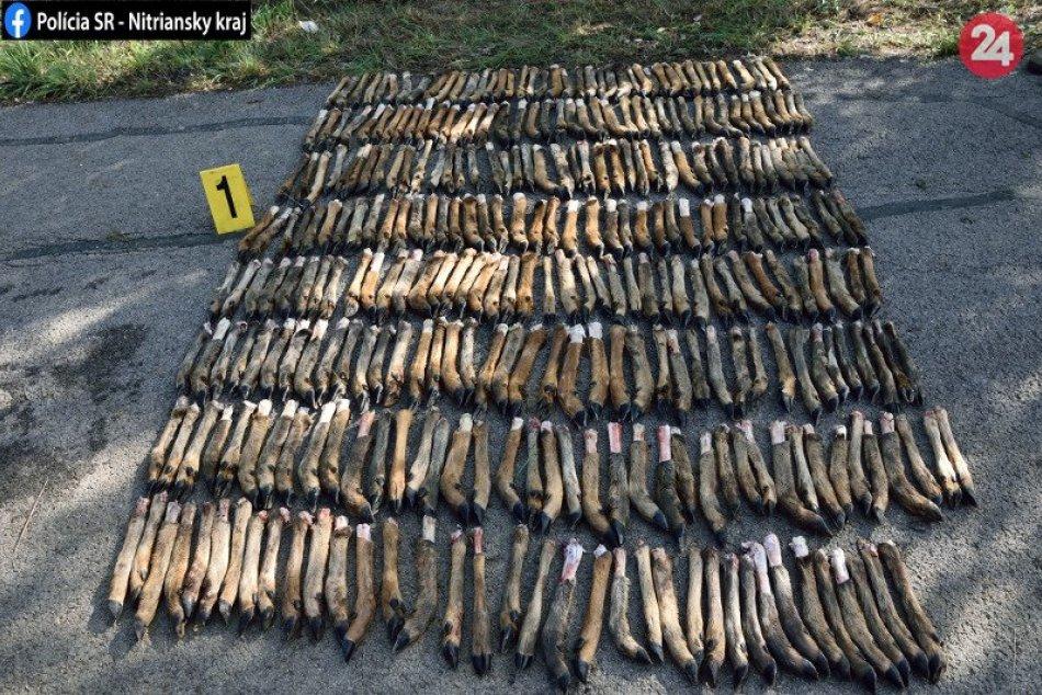 V polovnom revíri v okrese Nové Zámky sa našli stovky zvieracích končatín
