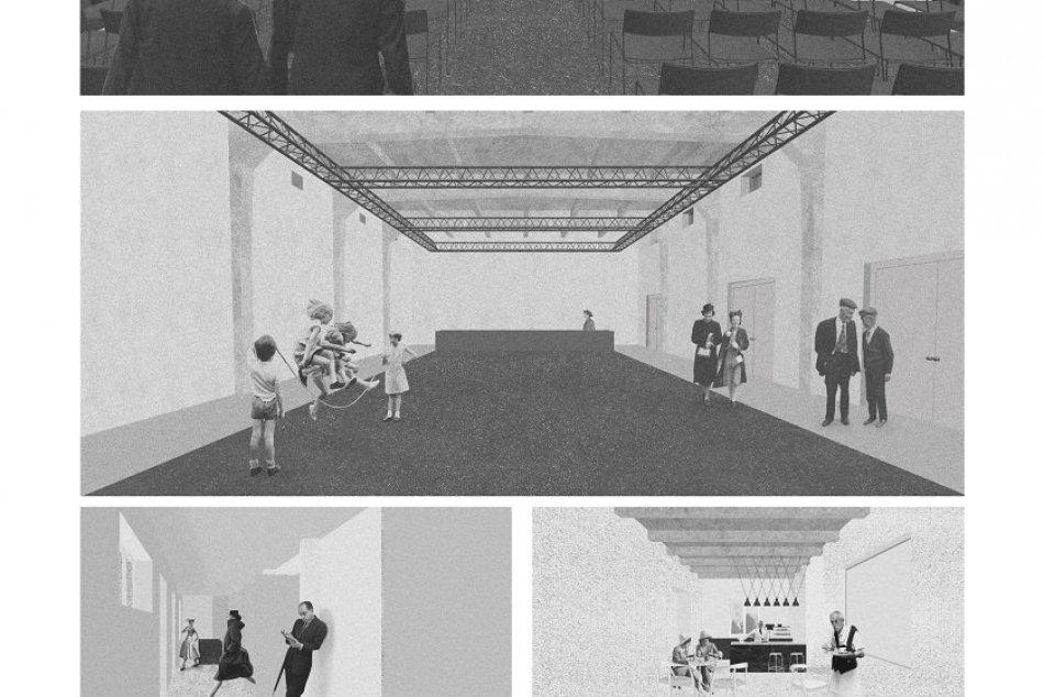 Víťazný návrh na kino Palace