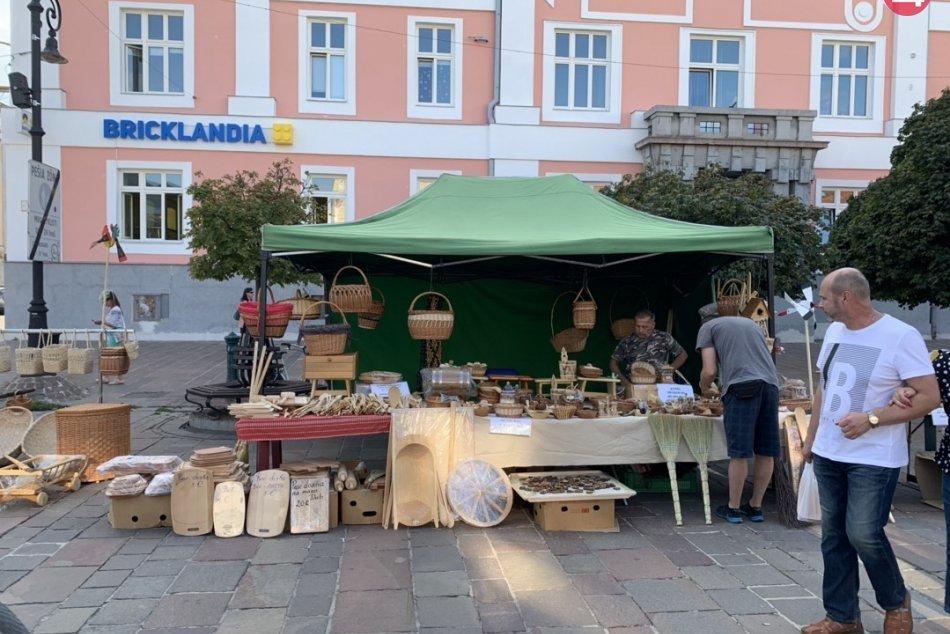V OBRAZOCH: Remeselné trhy na Hlavnej ulici