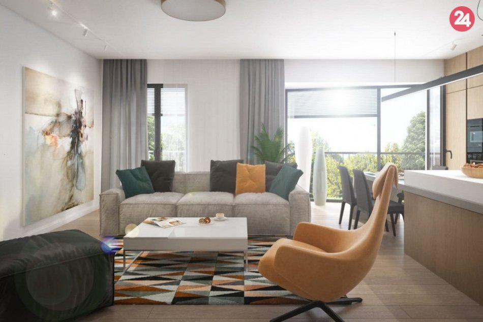 Vizualizácie bytov v novovznikajúcej nitrianskej štvrti
