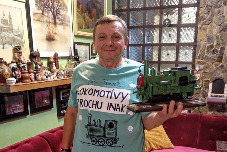 Ján Novák z Vajkoviec má unikátny koníček