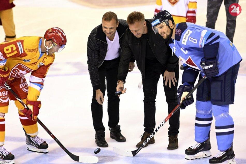 FOTO: HK Dukla Trenčín - HC Slovan Bratislava