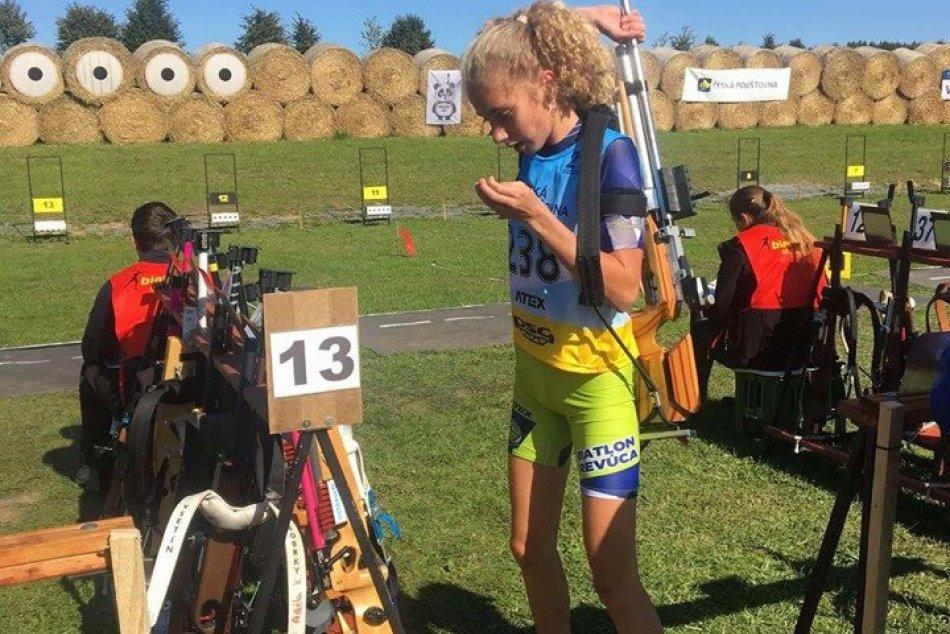 V OBRAZOCH: Tri majstrovské nedele pre biatlonistku Tamarku Molentovú!