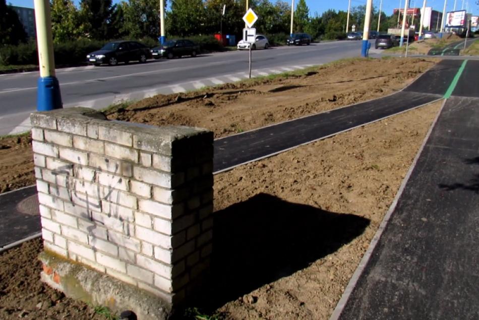V Prešove pribudla nová trasa pre cyklistov: Oči vám môže upútať jej rozvetvenie