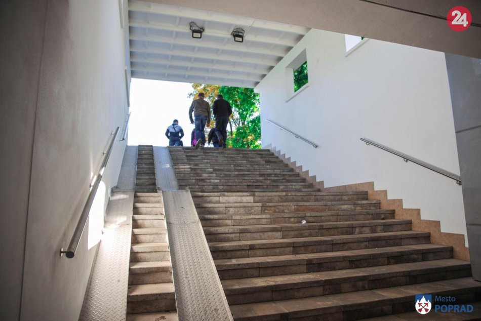 V Poprade zrekonštruovali frekventovaný podchod: ZÁBERY z miesta