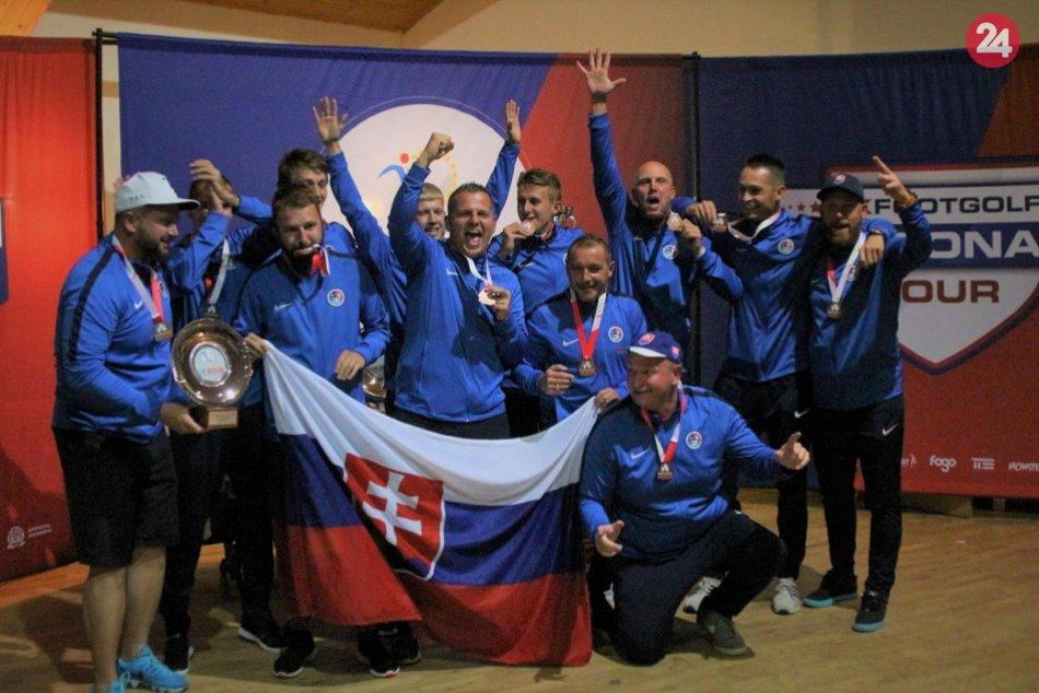 Footgolfový tím Slovenska získal bronz na ME: Pomohol aj náš Peter Gardian