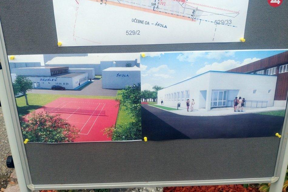 Obrazom: KSK začína stavať jedáleň pre tri stredné školy vRožňave