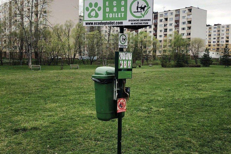 OBRAZOM: Spišská zvažuje inštaláciu psích toaliet na sídlisku Západ