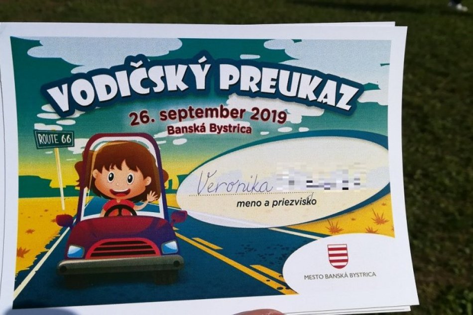 V OBRAZOCH: Bystrickí škôlkari si prevzali svoje prvé vodičáky