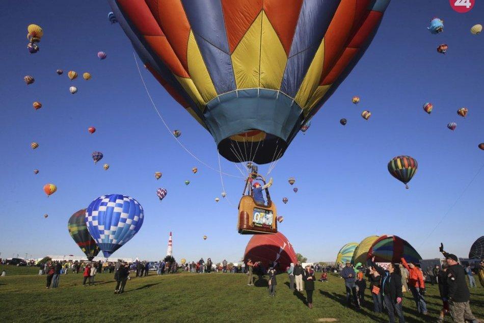 Balónová fiesta v Albuquerque