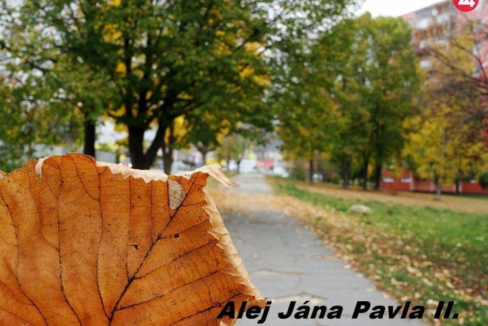 Obrazom: Jesenné ulice Rožňavy