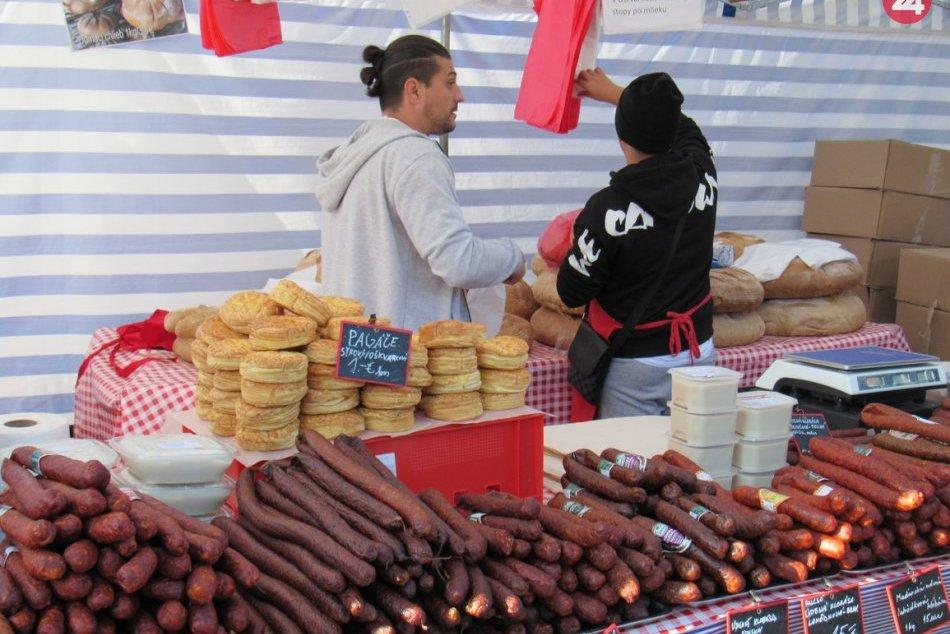 Ešte ich stihnete: Boli sme na Farmárskych trhoch v centre Prešova
