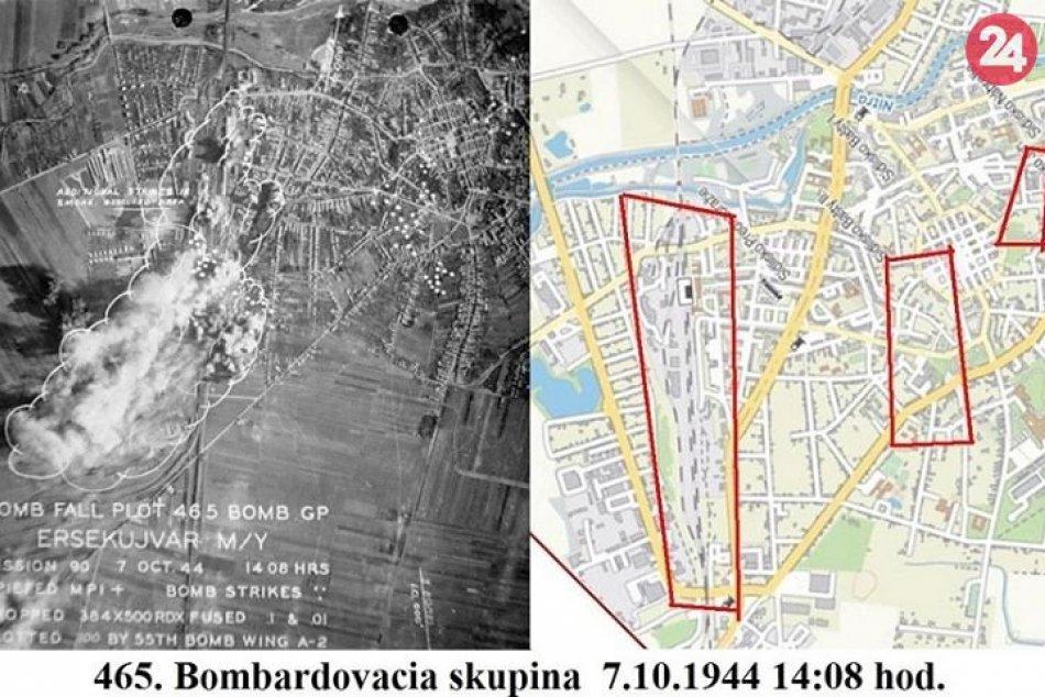 Obyvatelia Nových Zámkov si pripomenuli 75. výročie prvého bombardovania mesta