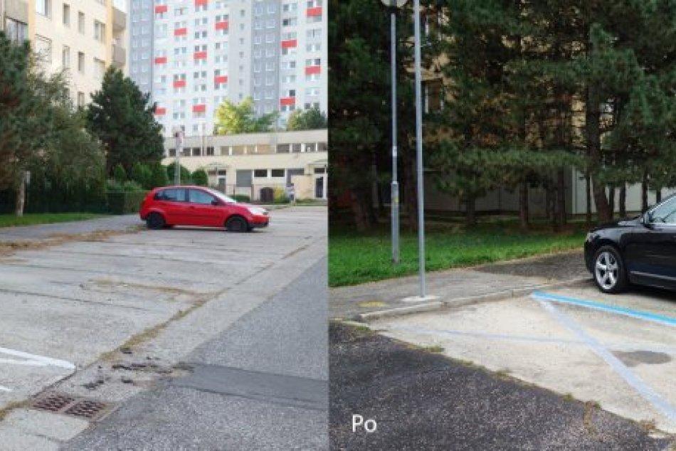 Parkovanie v Petržalke po novom