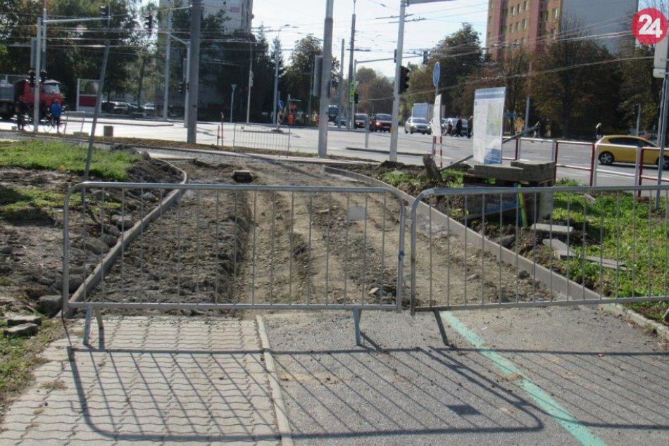 Zábery z prác na Levočskej ulici: Sú už v záverečnej fáze