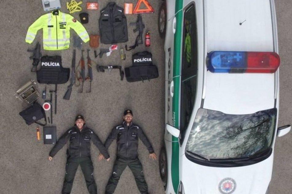 Do Tetris challenge sa zapojili aj policajti z Nových Zámkov a Štúrova