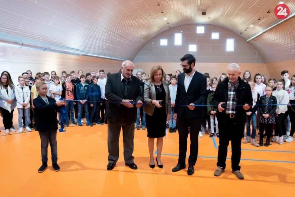 Telocvičňa na Čermáni je otvorená: Výstavba stála vyše 909-tisíc eur, FOTO