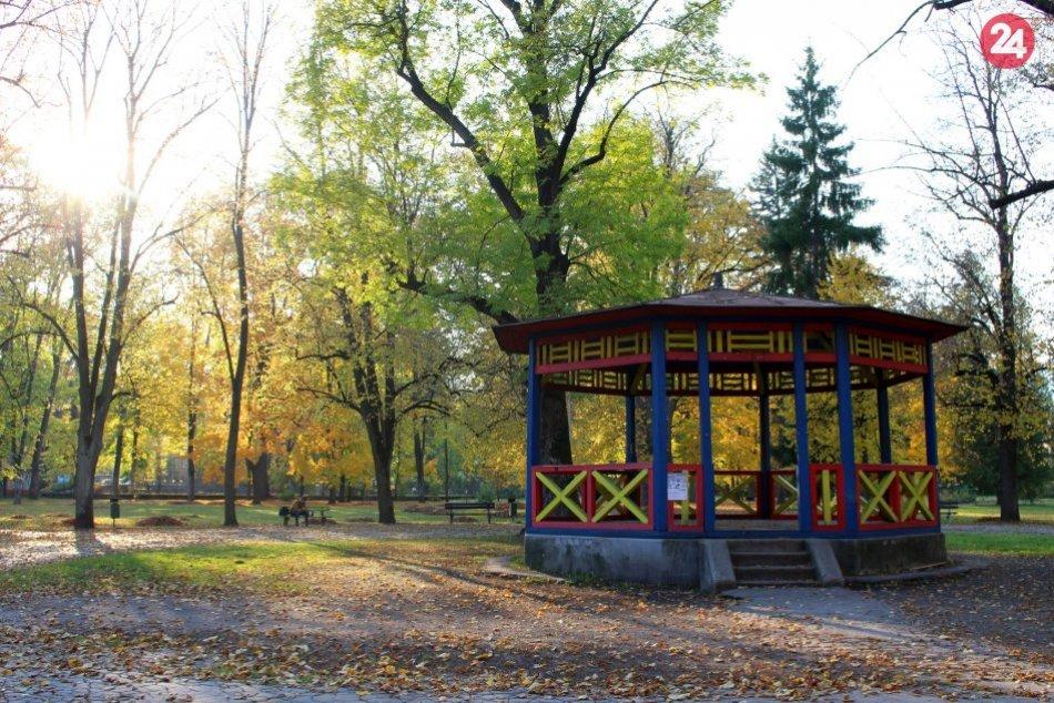 V OBRAZOCH: Jesenné zábery z bystrických parkov vám vylepšia deň