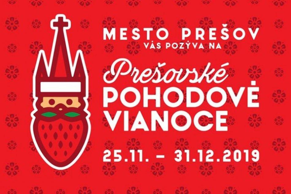 Logo vianočných trhov v Prešove: Rok 2019 prinesie novinky