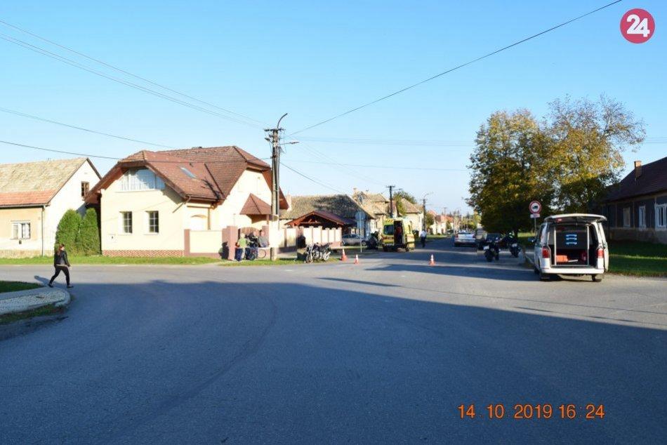 Vážna nehoda motorkára (62) z Nitry: Zasahovať musel vrtuľník, FOTO
