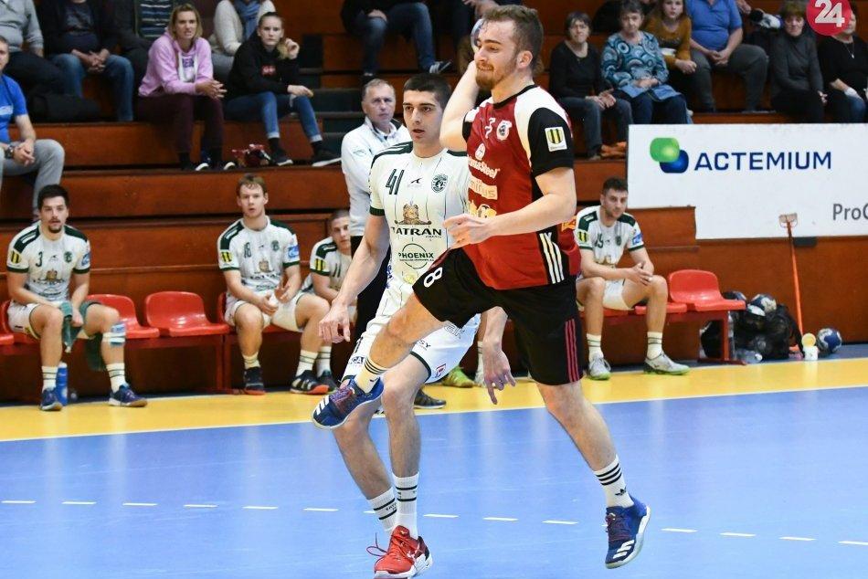Hádzanári HKM Šaľa hostili Prešov: Naši prehrali o gól, FOTO