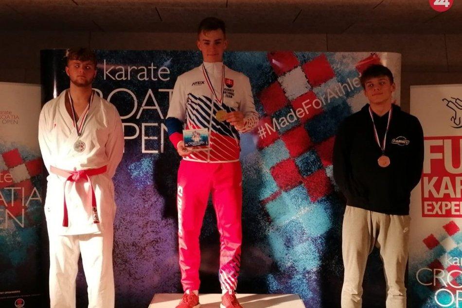 Novoveskí karatisti zaznamenali úspechy aj na 19. ročníku  Croatia Open