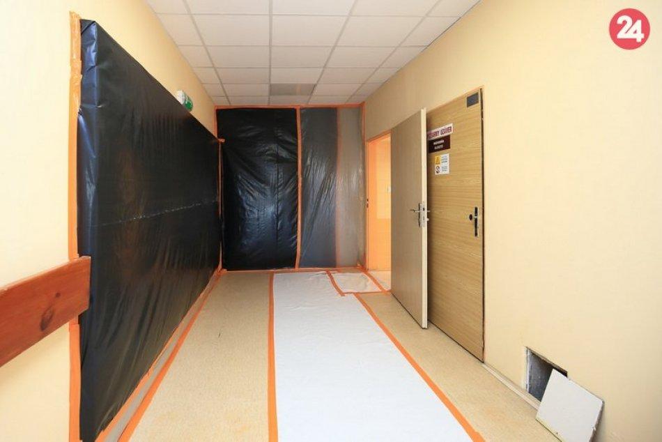 Vo Fakultnej nemocnice s poliklinikou Nové Zámky prebieha viacero prerábok