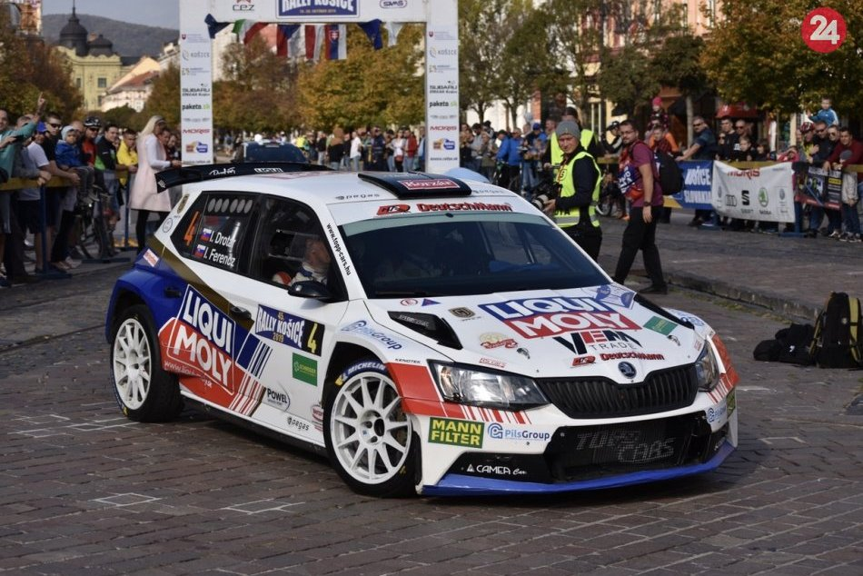 V OBRAZOCH: 45. ročník Rally Košice