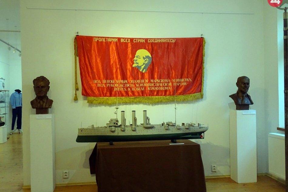 Obrazom: Výstava v Baníckom múzeu približuje obdobie aj pád socializmu