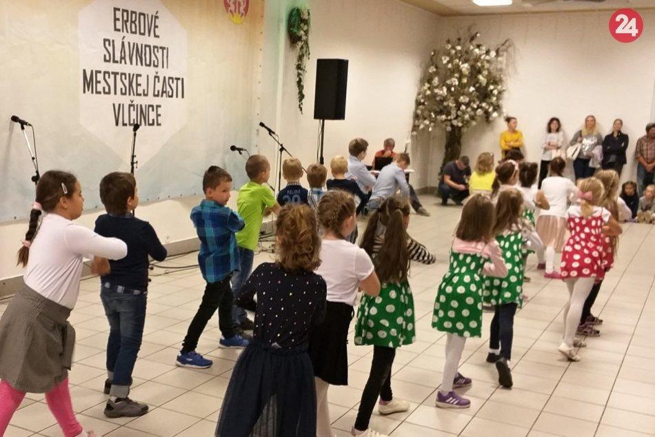 Erbové slávnosti v mestskej časti Vlčince