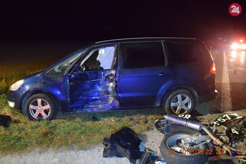 Dopravná nehoda s tragickým koncom: Pri Nitre vyhasol život motorkára