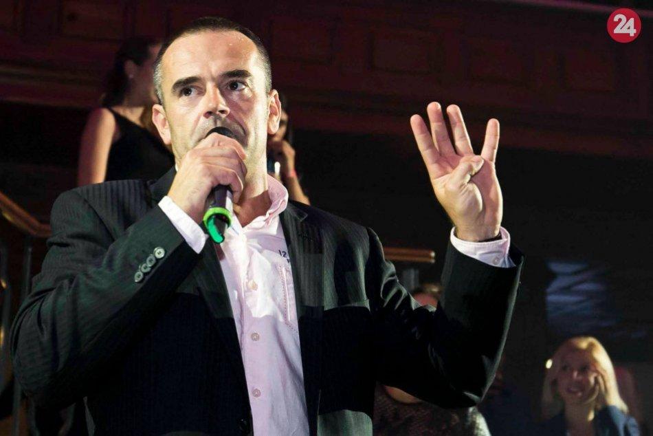 V OBRAZOCH: Slavo Jurko absolvuje ako moderátor množstvo podujatí