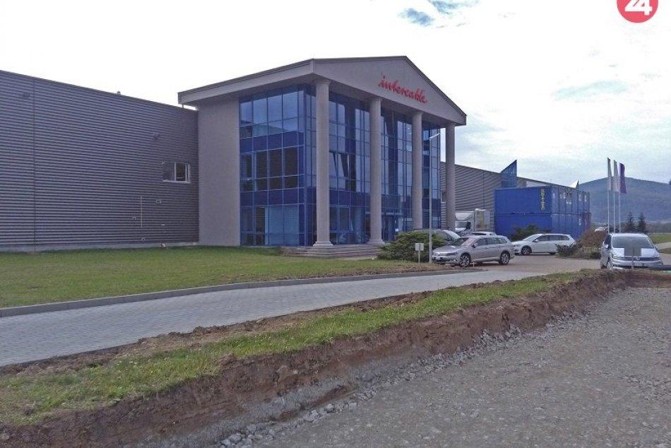 Intercable chce rozšíriť závod a do troch rokov zamestnať 550 ľudí
