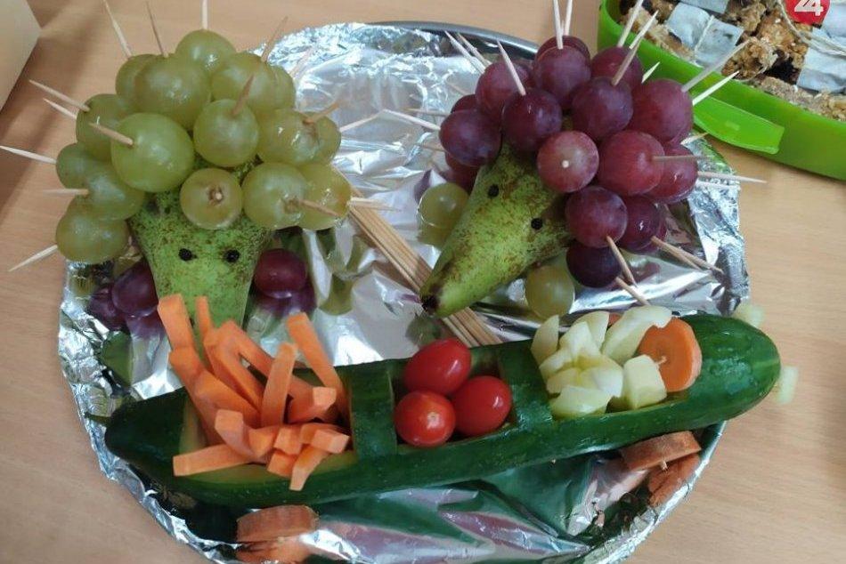 V šalianskej škole na zdravú nôtu: Žiaci sa 16 zapojili do Svetového dňa výživy,