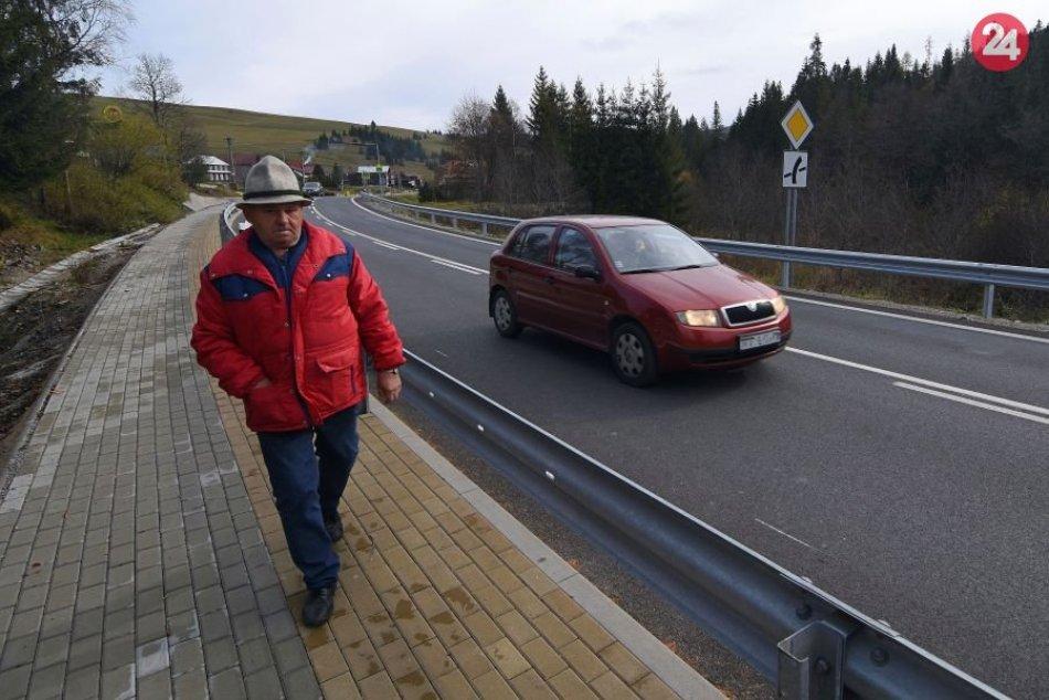 Cesta cez Ždiar opravená: Pozrite si to na FOTKÁCH