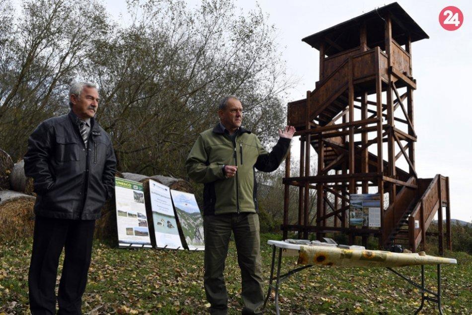 Obrazom: Pri Hrhovských rybníkoch pribudol náučný chodník i pozorovacie veže