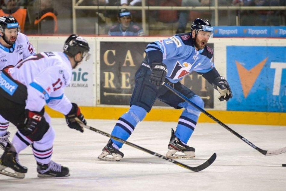 V OBRAZOCH: Bystrickí hokejisti na domácom ľade nestačili na Slovan