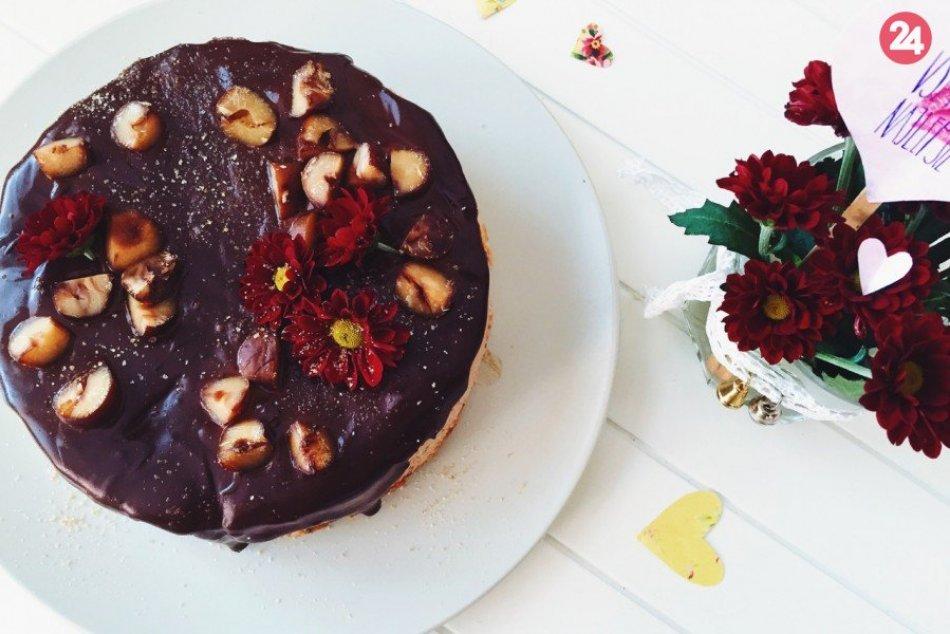 RECEPT: Cheesecake  z pečených gaštanov a javorového sirupu