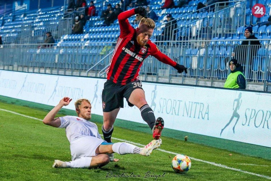 FC Nitra - FC Spartak Trnava 1:0 v 14. kole