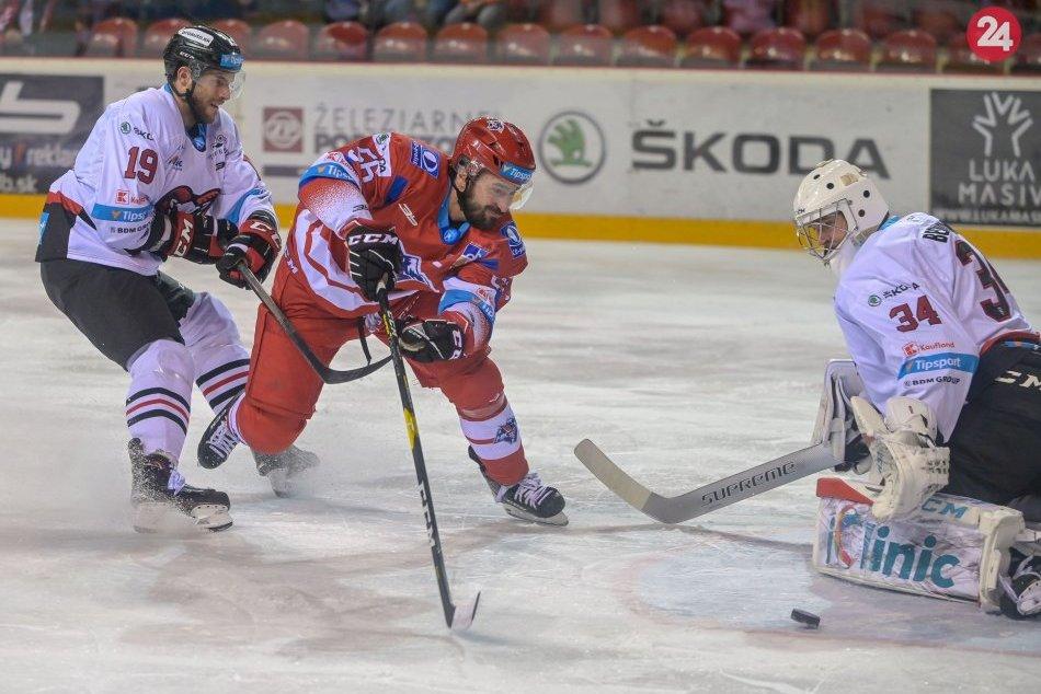 V OBRAZOCH: Bystrickí hokejisti doma zdolali Liptákov až v nájazdoch