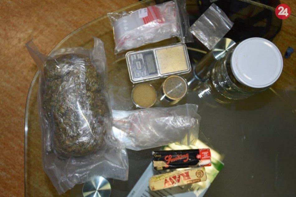 Zaistené drogy v Žilinskom okrese