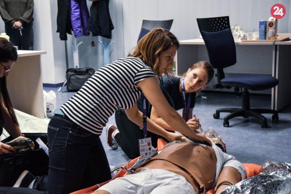 Medzinárodná súťaž pre medikov - MedGames v Martine