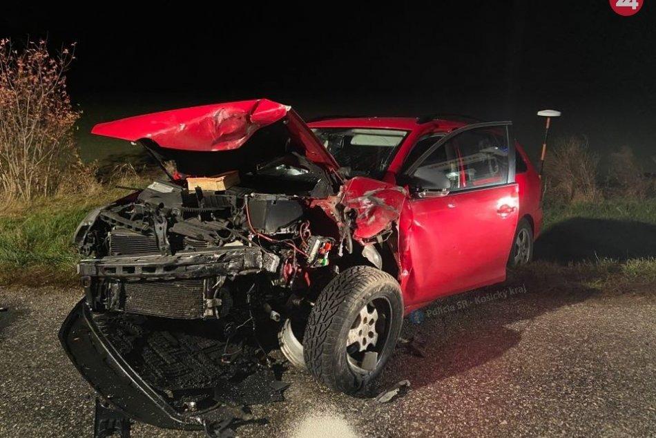 Zrazili sa autá dvoch Zemplínčanov