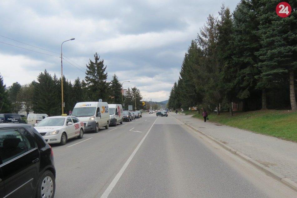 Dopravné obmedzenie v Považskej Bystrici: Tu to bude na dlhšie