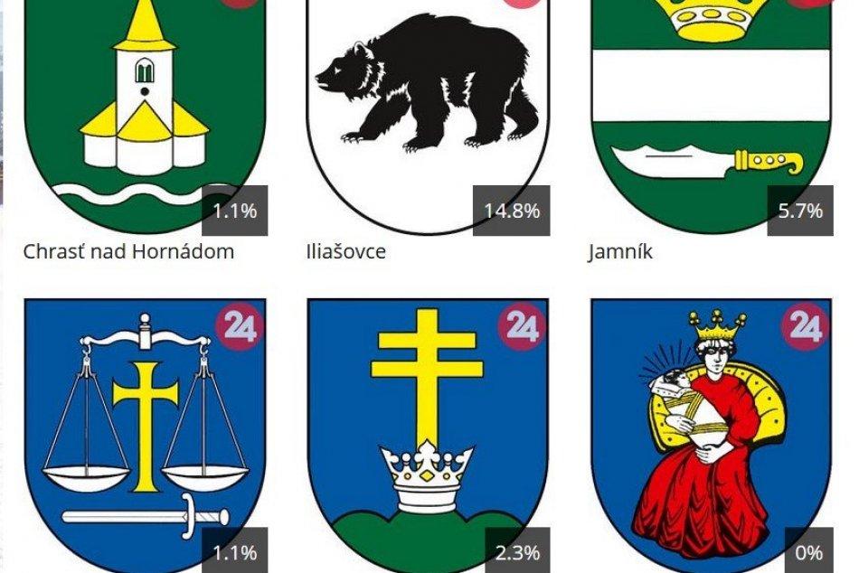 Kompletné výsledky súťaže o najkrajší erb obce Spišskonovoveského okresu