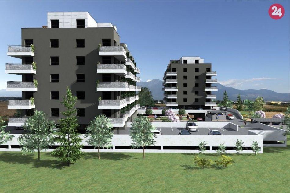 Takto budú vyzerať bytové domy Barbora v Poprade
