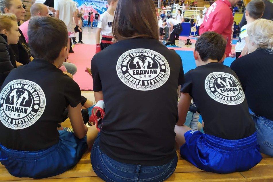 V OBRAZOCH: Zápasníci z bystrického Erawan Gymu vybojovali 3 medaily